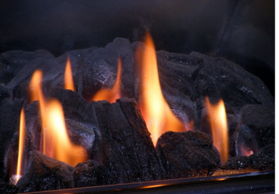Natural gas fireplace Calgary