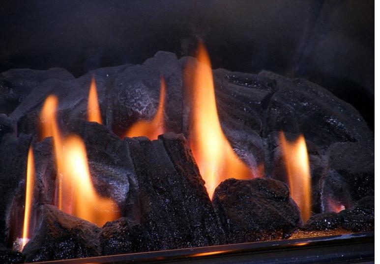Natural gas fireplace Calgary