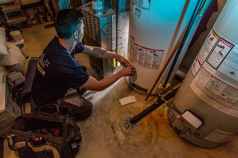 Calgary hot water tank repair