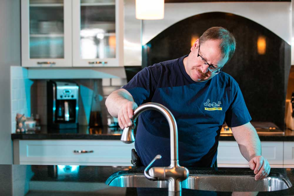 Faucet repair and installation in Calgary