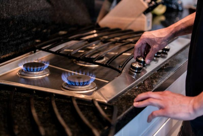 Gas Stove Gas Line Installation in Calgary