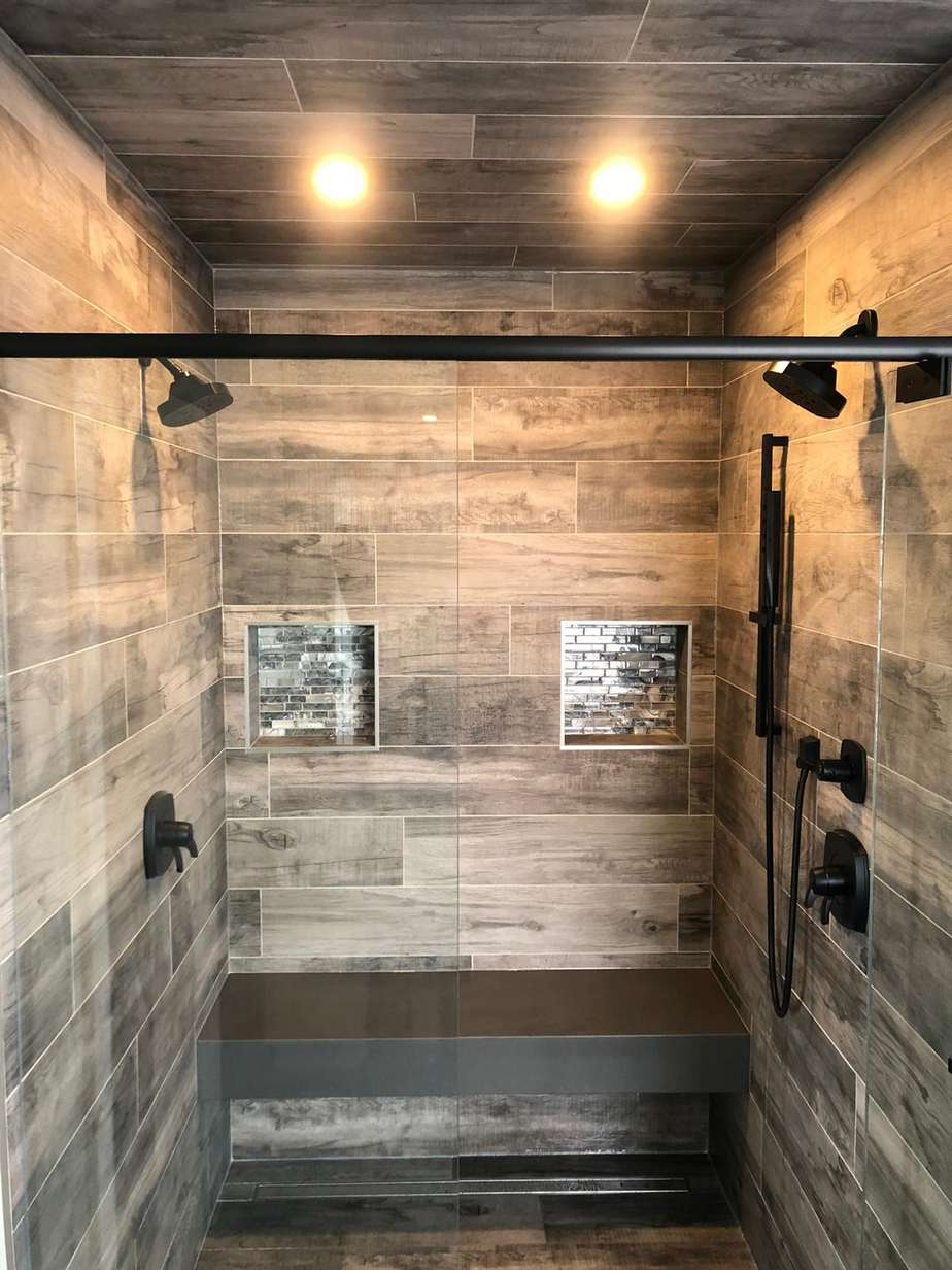 Beautiful Luxury Double Shower